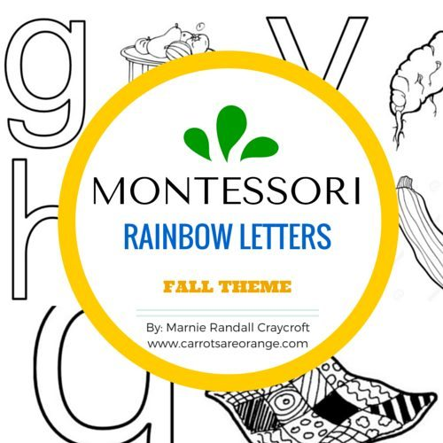 Rainbow Letters Fall COVER