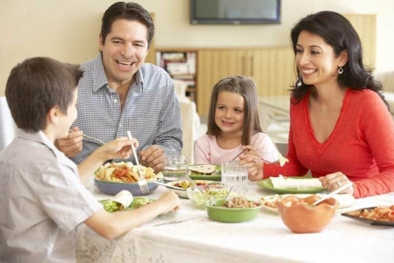 Family Meal Montessori At Home