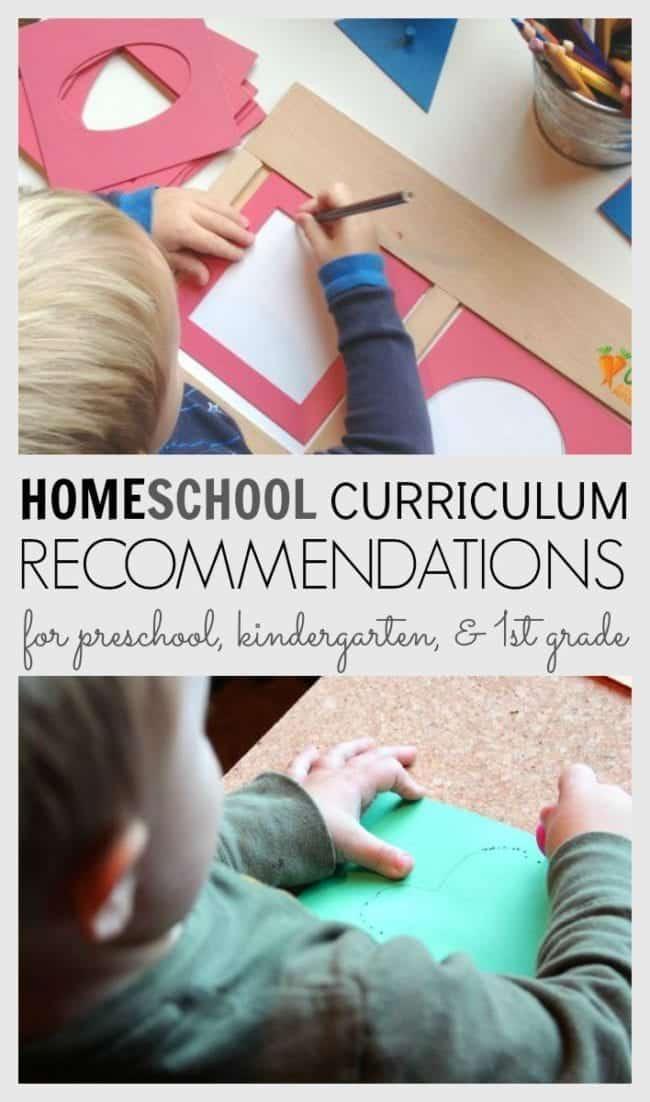 Homeschool curriculum ideas