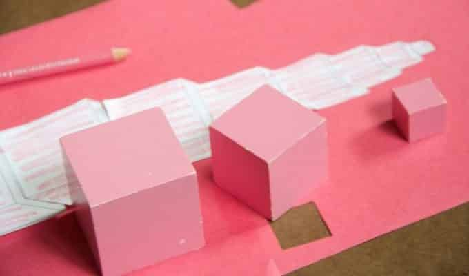 Paper Pink Tower