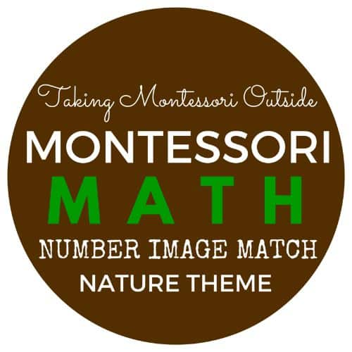Nature Math Printable Line Match