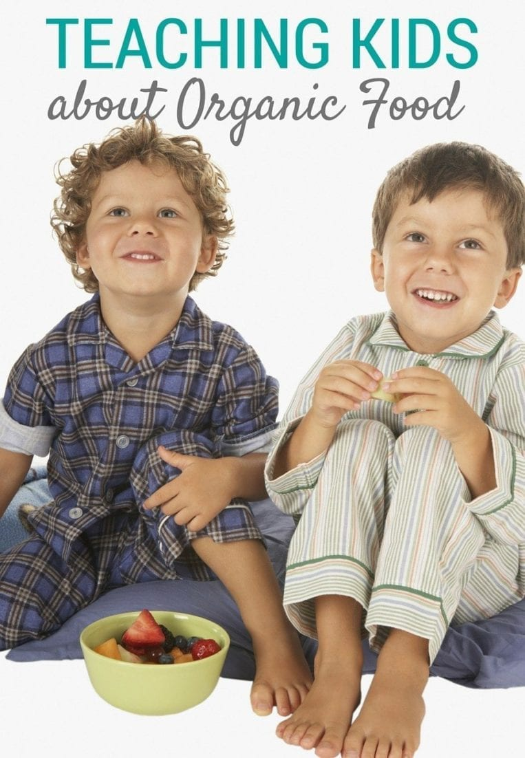teaching your kids about organic food