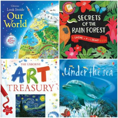 Learning about the World with Usborne Books