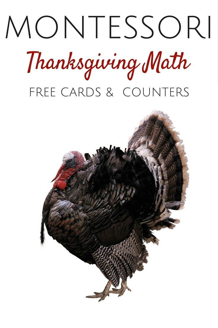 montessori thanksgiving math