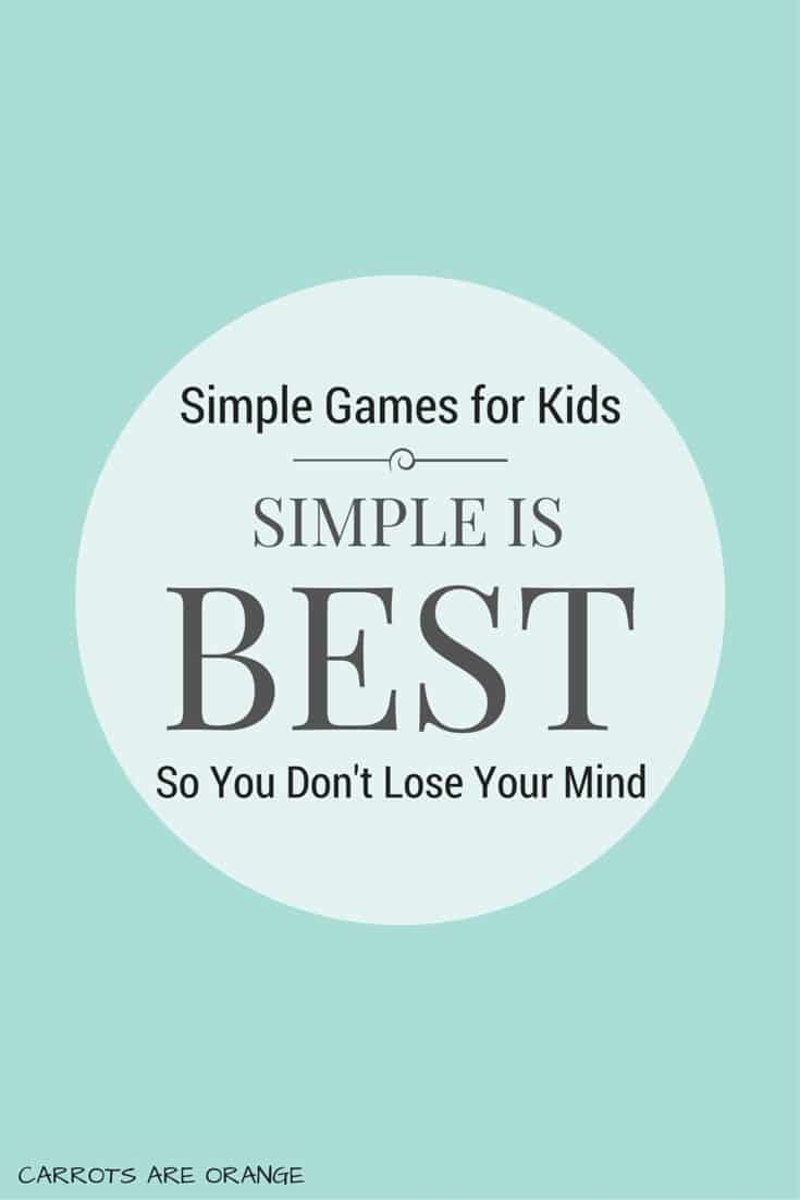SIMPLE GAMES FOR KIDS PINTEREST