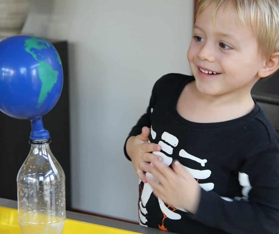 Baking Soda Vinegar Science Experiment