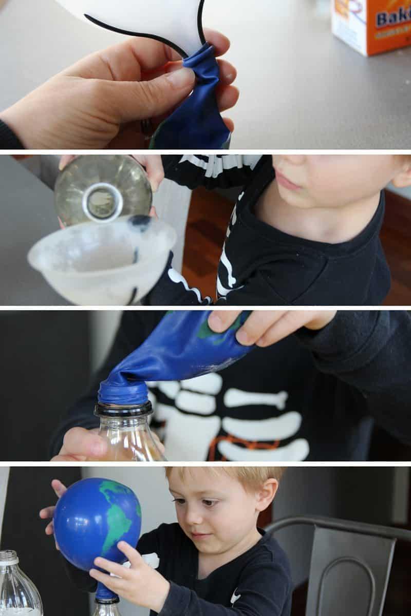 Baking Soda Vinegar Chemistry Experiment