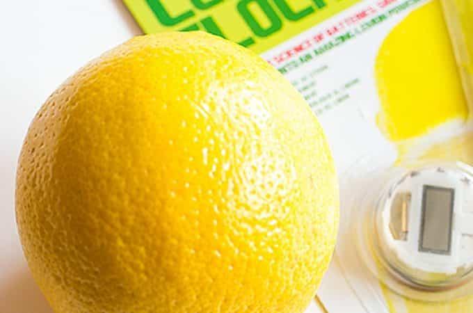 Lemon Clock Activity