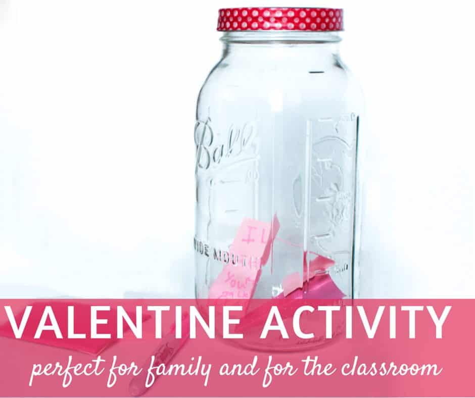 valentine activity for the classroom