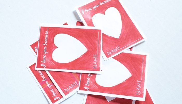 Celebrate Valentine's Day with Family or Your Class with this Cool Idea