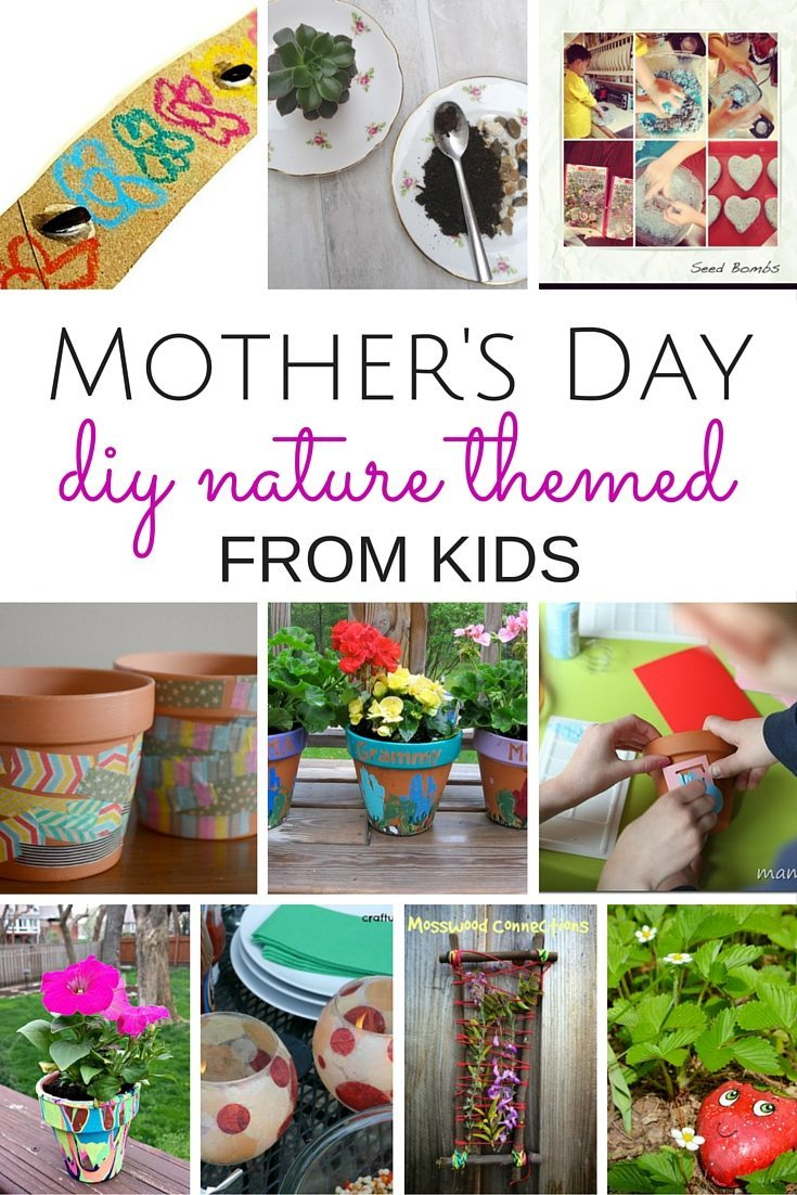 DIY Mother's Day Gifts from Kids by Kids