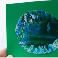 Melted Crayon Art Activity for Earth Day