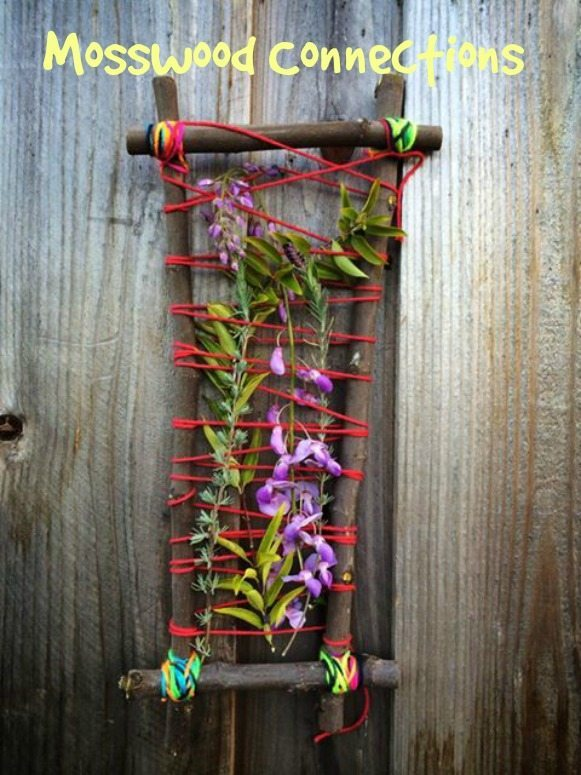 mother's day nature weaving