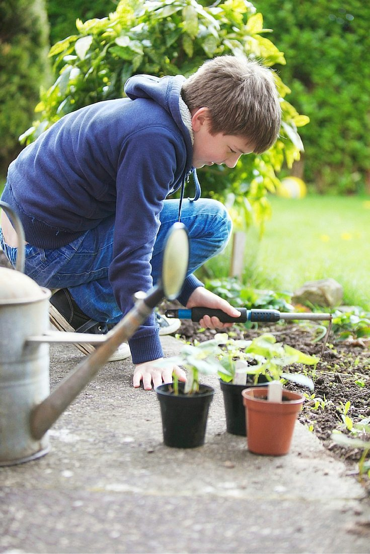 gardening with kids guide