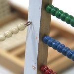 Montessori Math Small Bead Frame