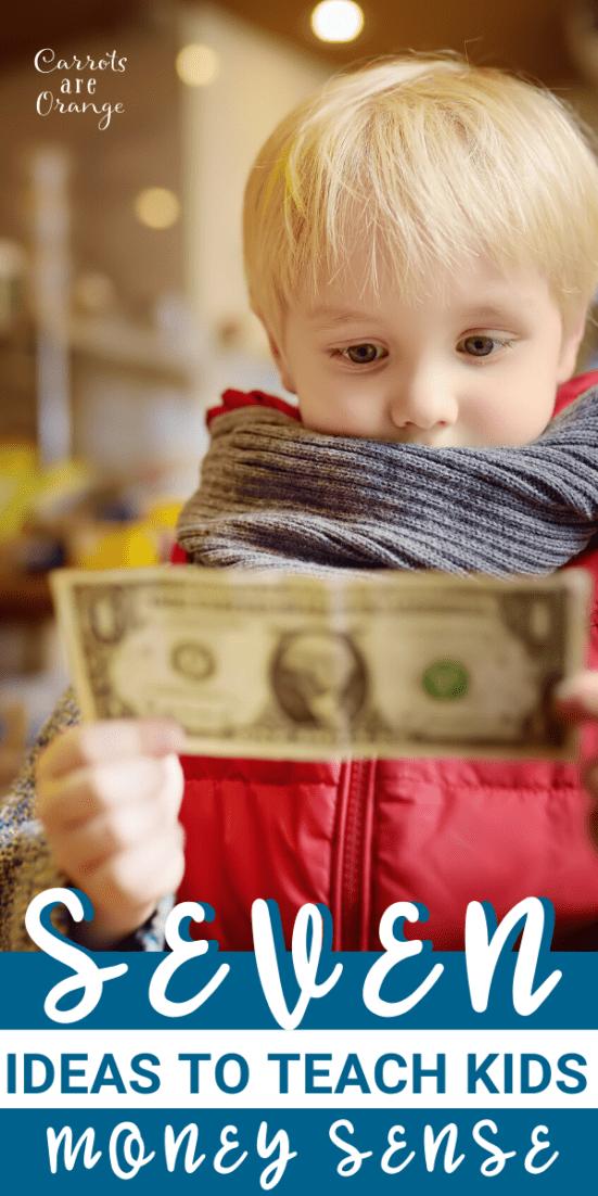 Financial Literacy for Kids - Here are Seven Ideas to Teach Kids Money Sense