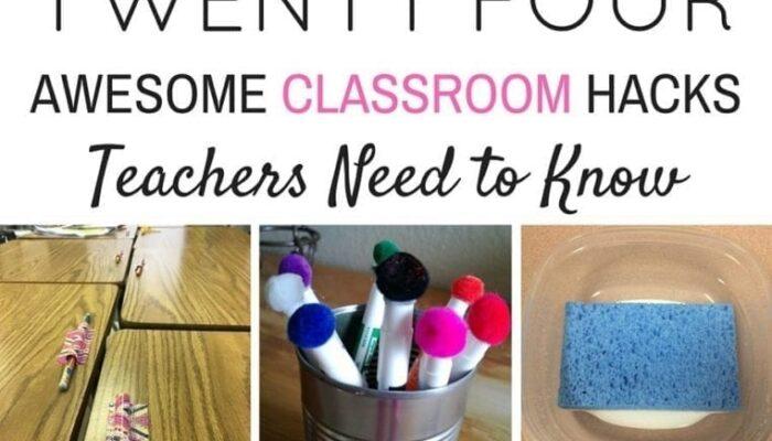 24 Brilliant Classroom Hacks Every Teacher Should Know