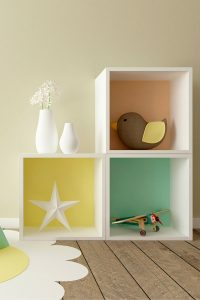 Montessori bedroom feature