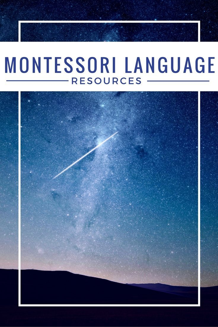 Montessori Language Resources