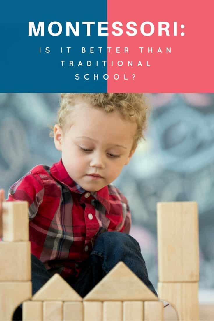 montessori versus traditional