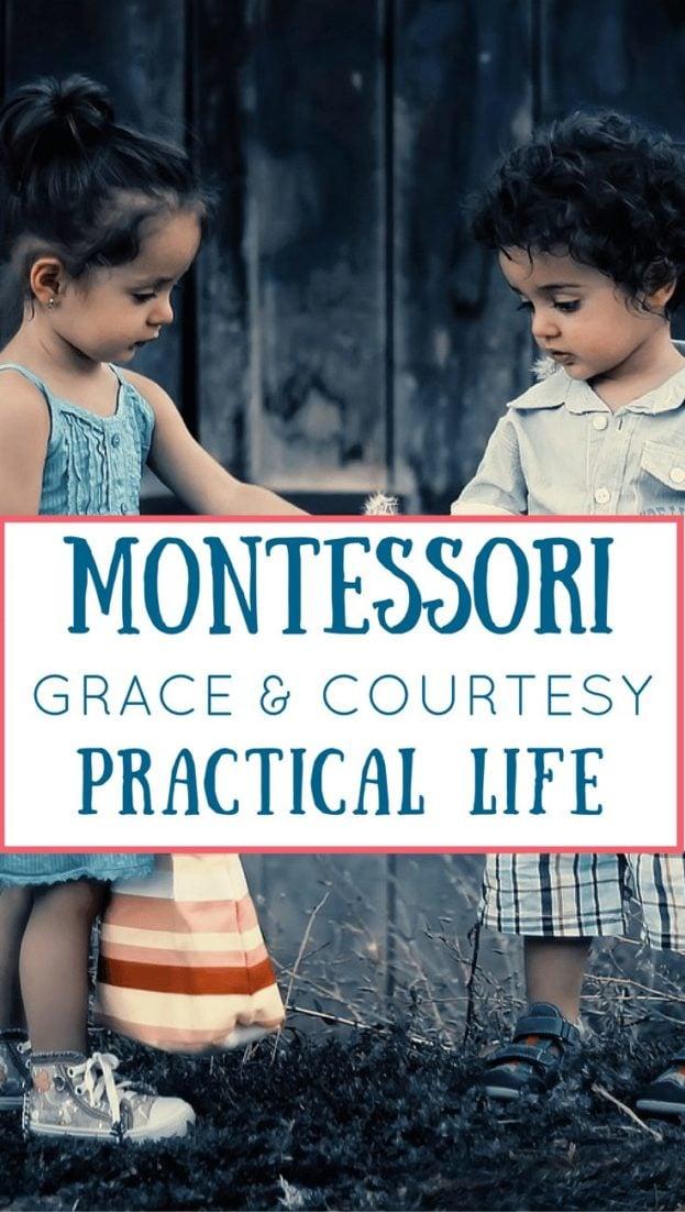 Grace & Courtesy in a Montessori Classroom
