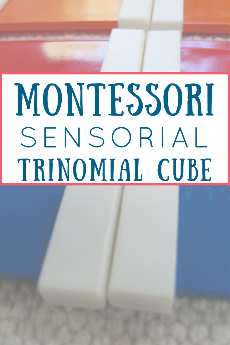 Montessori's Trinomial Cube Introduces Preschoolers to Math