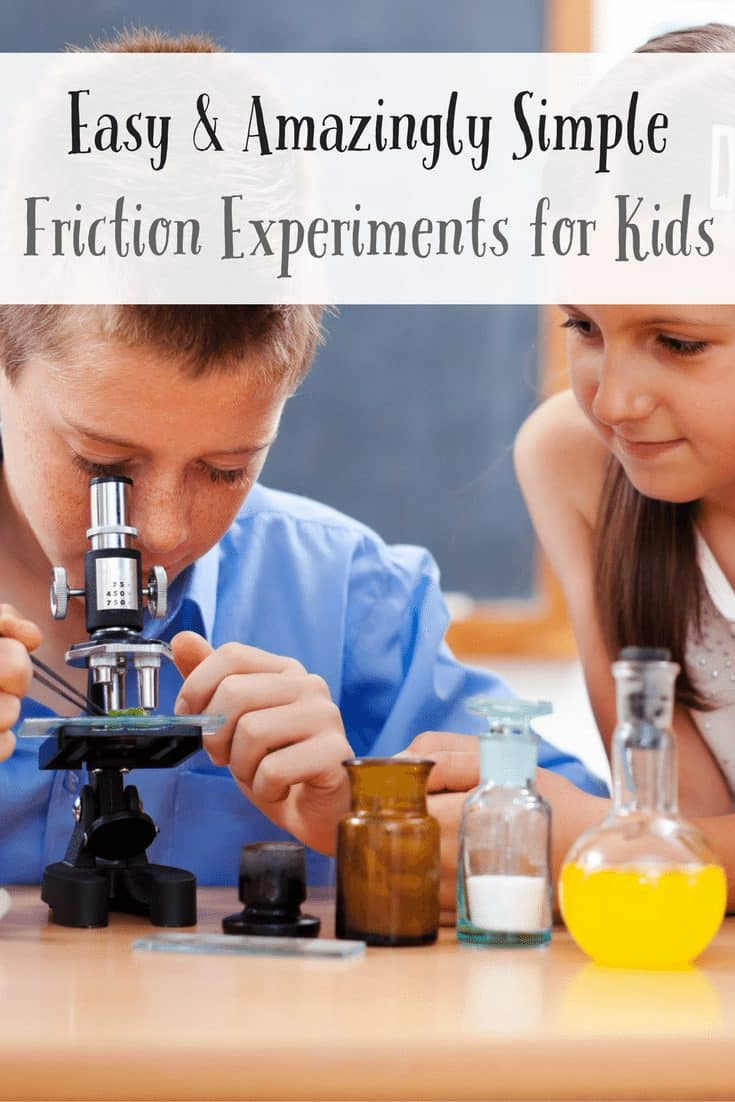 Easy & Amazingly Simple Friction Experiments for Kids