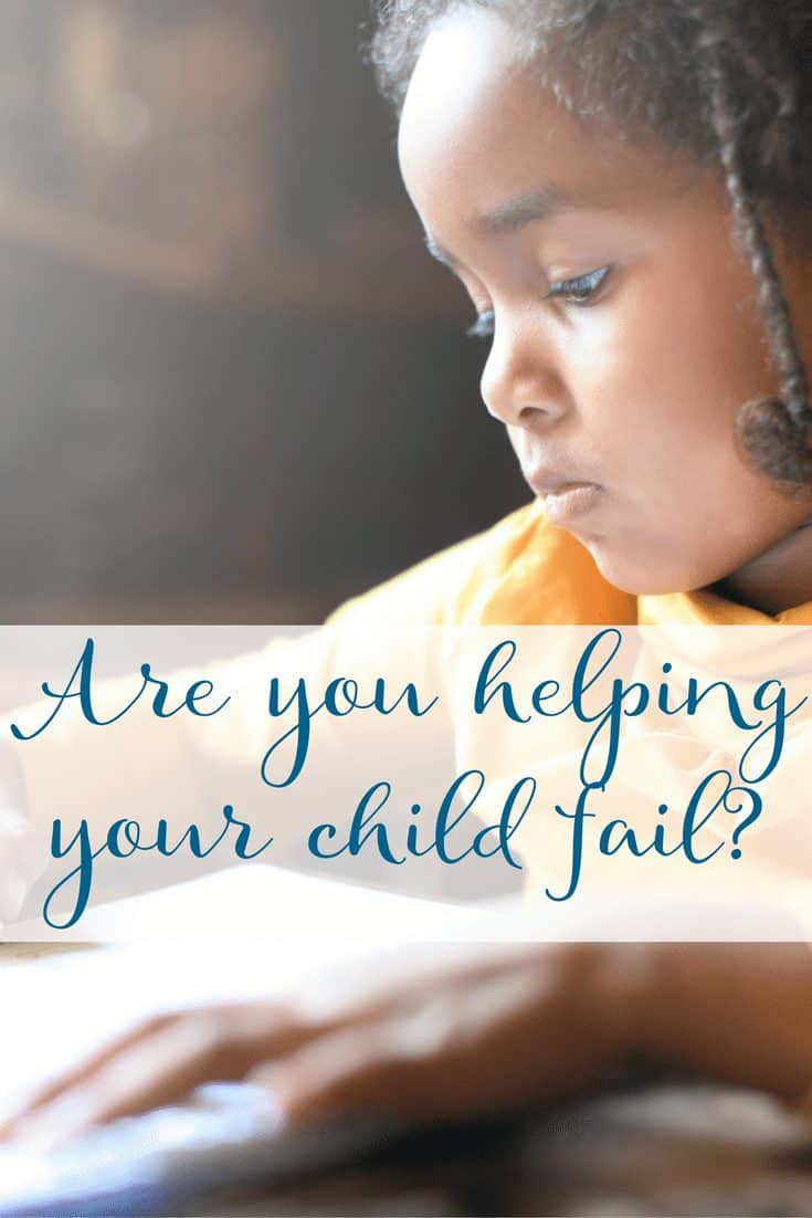 Why is your child failing?
