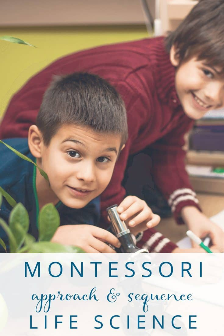 Montessori Life Science Approach & Sequence