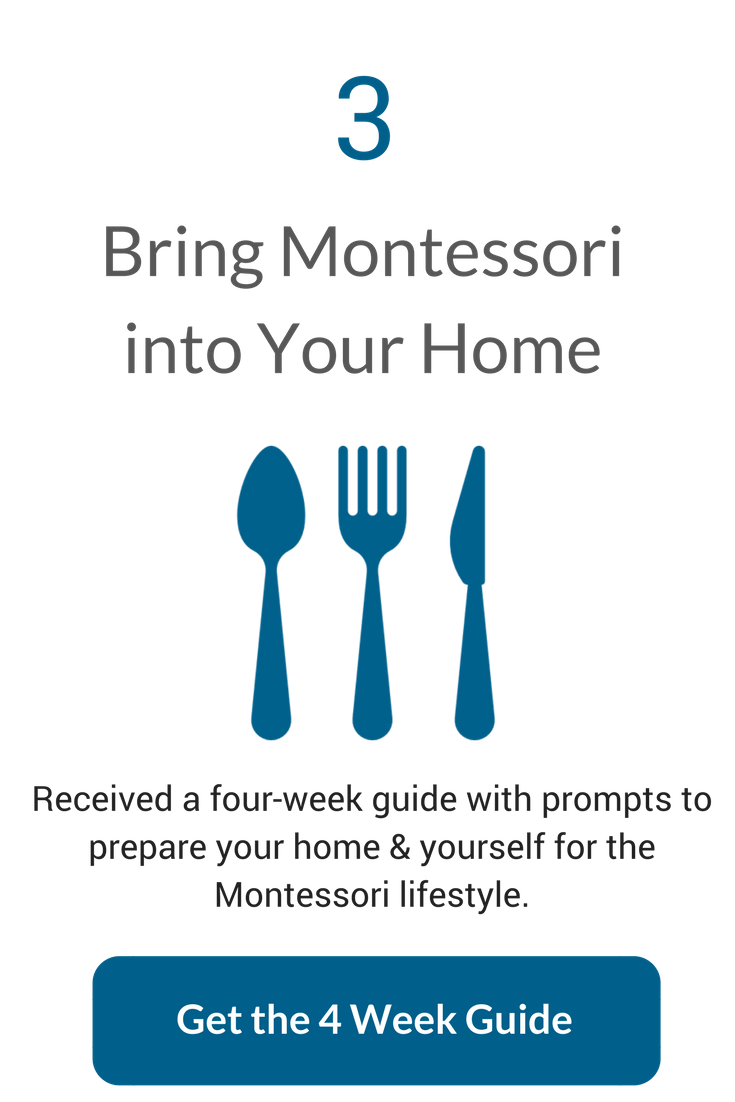 4 Weeks to Montessori at Home