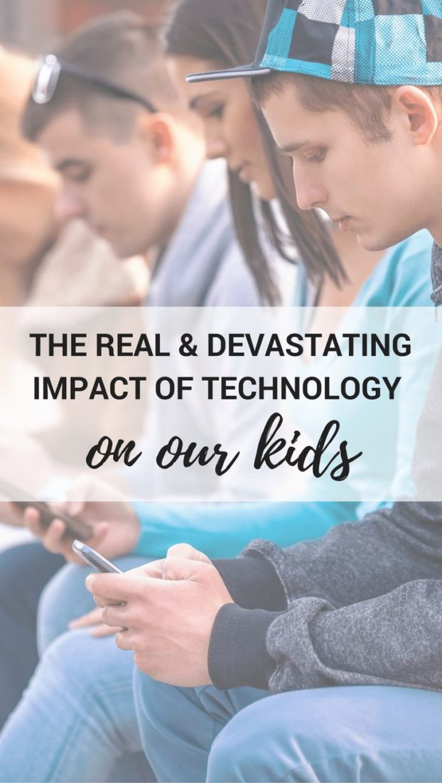 THE REAL DEVASTATING IMPACT OF TECHNOLOGY