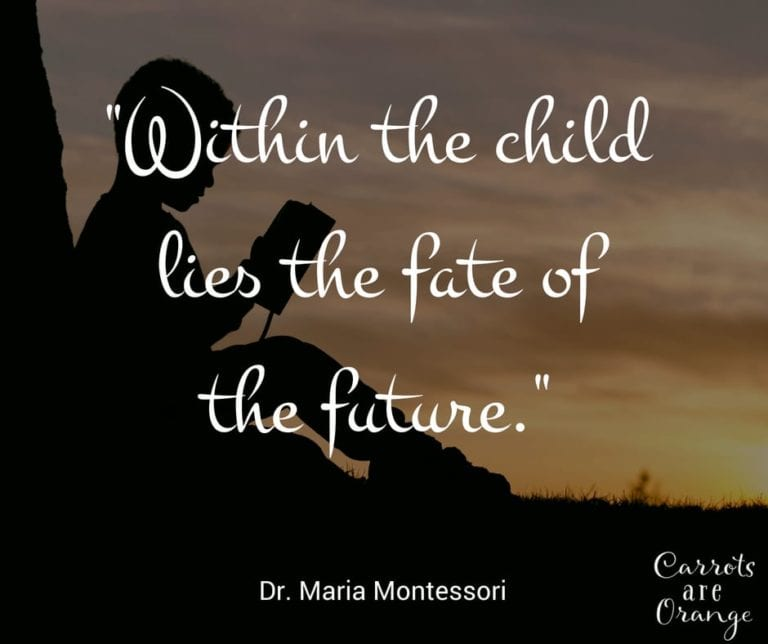Within the Child Lies the Fate of the Future