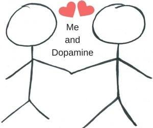 me and dopamine x