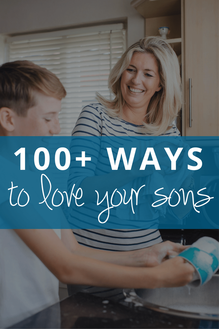 Parenting tips for moms of boys