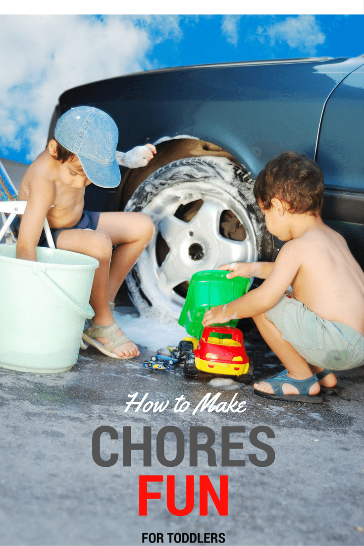 HOW TO MAKE CHORES FUN FOR TODDLERS PIN
