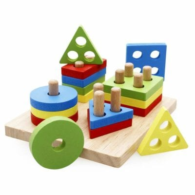 Montessori Deals - February 2019 - Geometric Board Sor