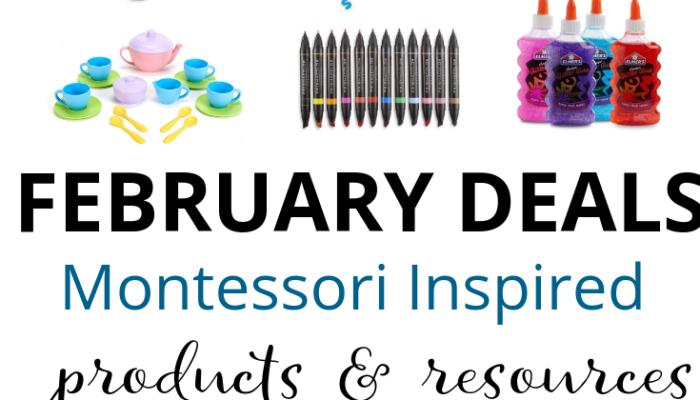 Montessori Deals on Amazon – February 2019