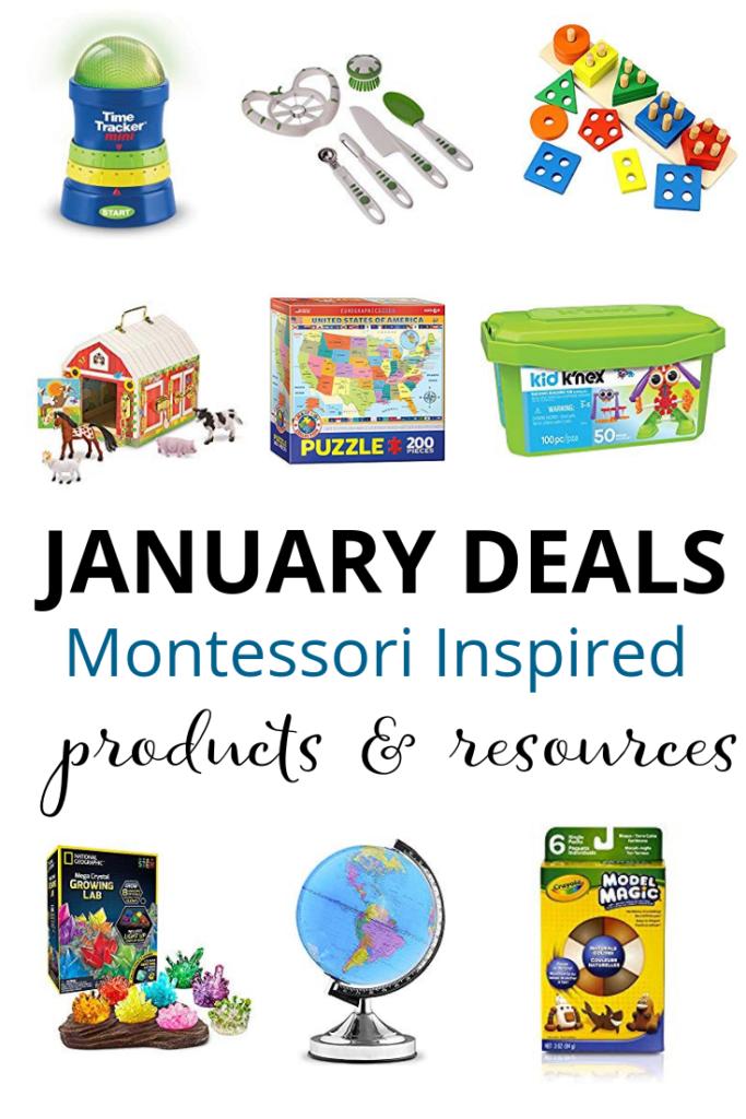 Montessori Deals on Amazon – January 2019