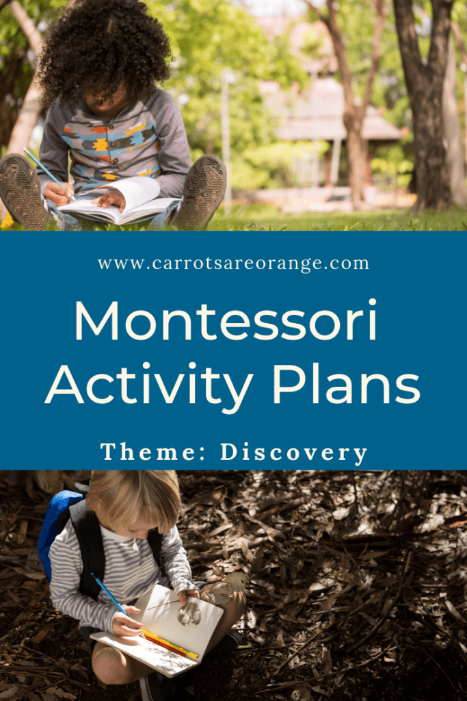 Montessori Activity Plans for Home - Discovery Theme