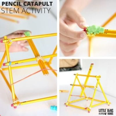 How to Build a Catapult - Pencils & Rubber Band