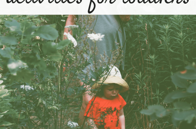 12+ Creative & Inexpensive Outdoor Activities for Toddlers