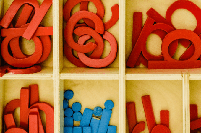 5 Montessori Lessons Using the Moveable Alphabet