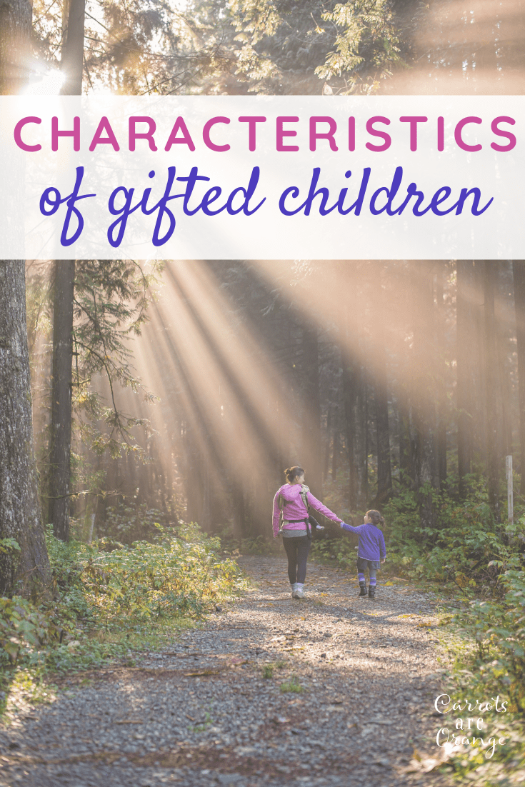 Learn the characteristics of gifted children