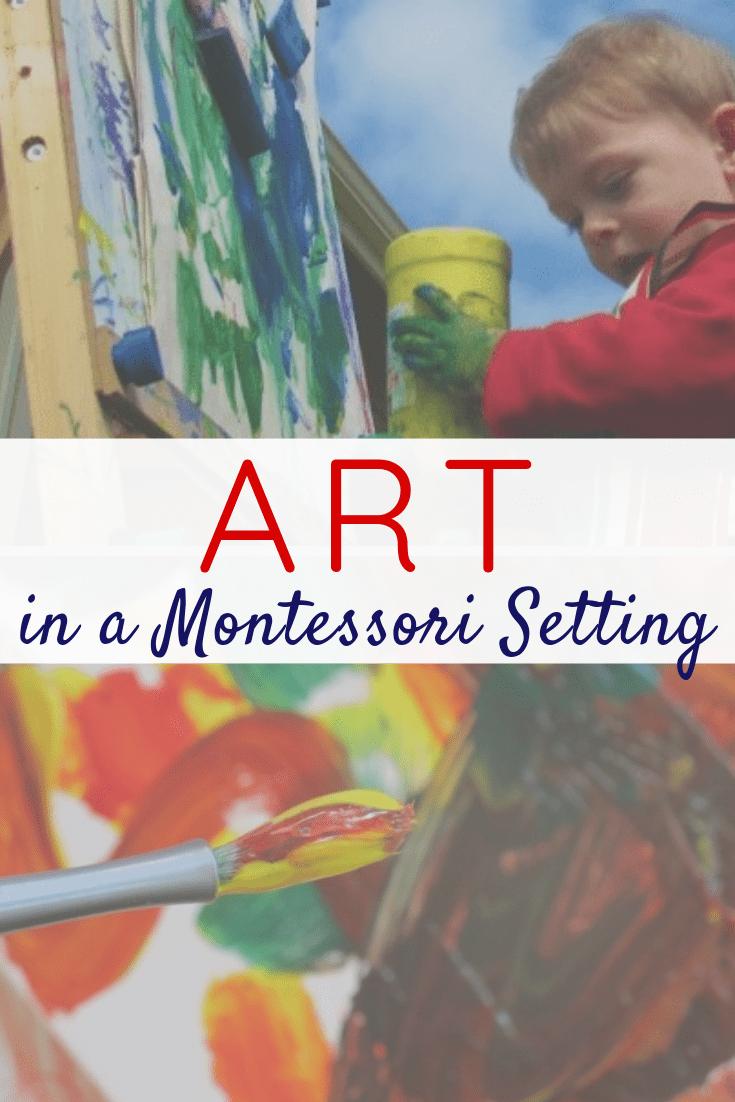 Learn about Montessori Art Materials, Montessori Art Activities, and Montessori Art Shelf Ideas