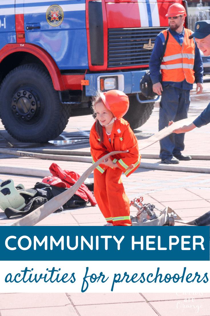 Not to Be Missed Community Helper Activities for Preschoolers