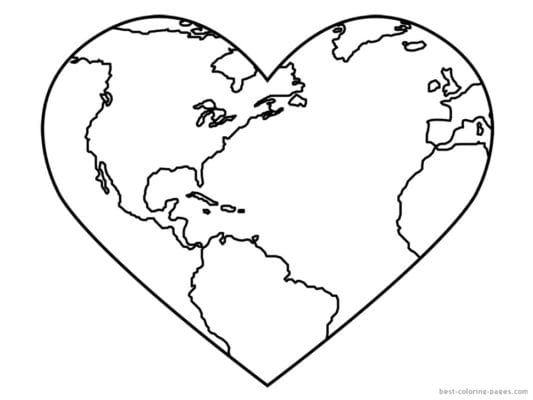 The Best Earth Day Coloring Pages
