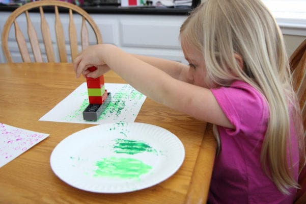 Art Printing with Legos