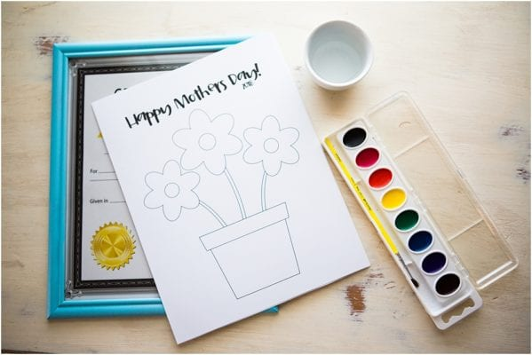 Unique DIY Mother's Day Gifts for Kids - Drawing