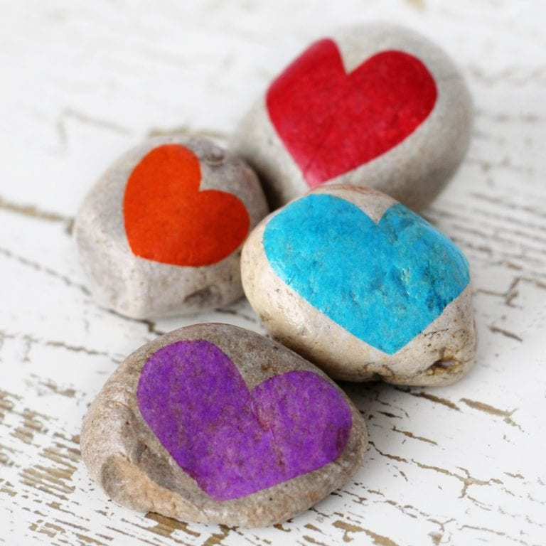 Gratitude Stones - Craft for Kids