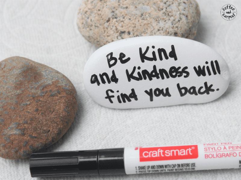 Kindness Rocks - Crafts for Kids